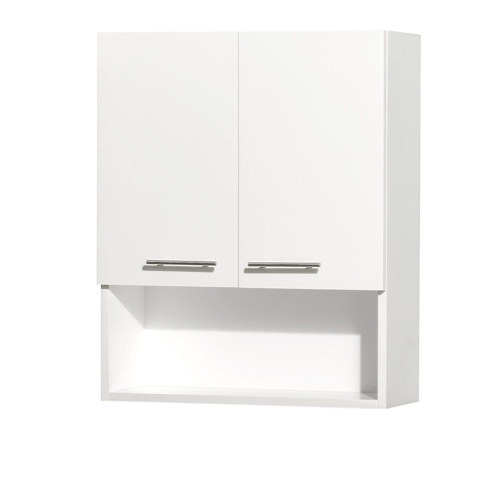 Inspiration Web Design Centra Bathroom Wall Cabinet By Wyndham Collection White