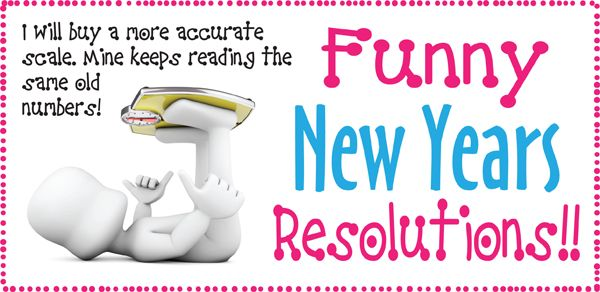 Hilarious New Year Resolutions  Images Photos Funny New Years Resolutions For Facebook Status