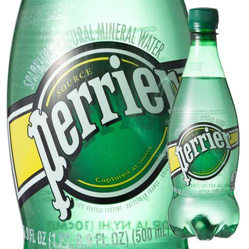 ペリエ ペットボトル ナチュラル 炭酸水 500ml 24本入 の通販 爽快ドラッグ ペリエ 炭酸水 ペットボトル