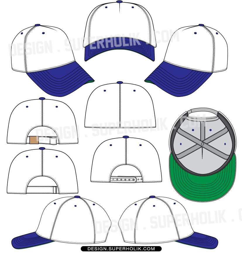 baseball hat template vector fashion vector templates in 2018