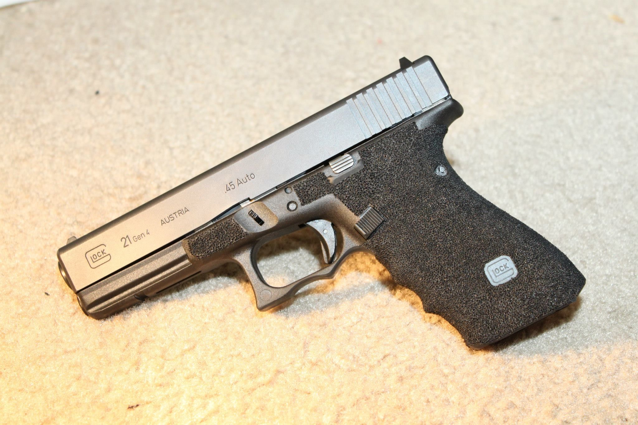 Glock stippling Glock Talk Police Pinterest Guns