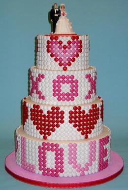 Original Wedding Cake #boda #wedding #bride #cake #tarta #pastel