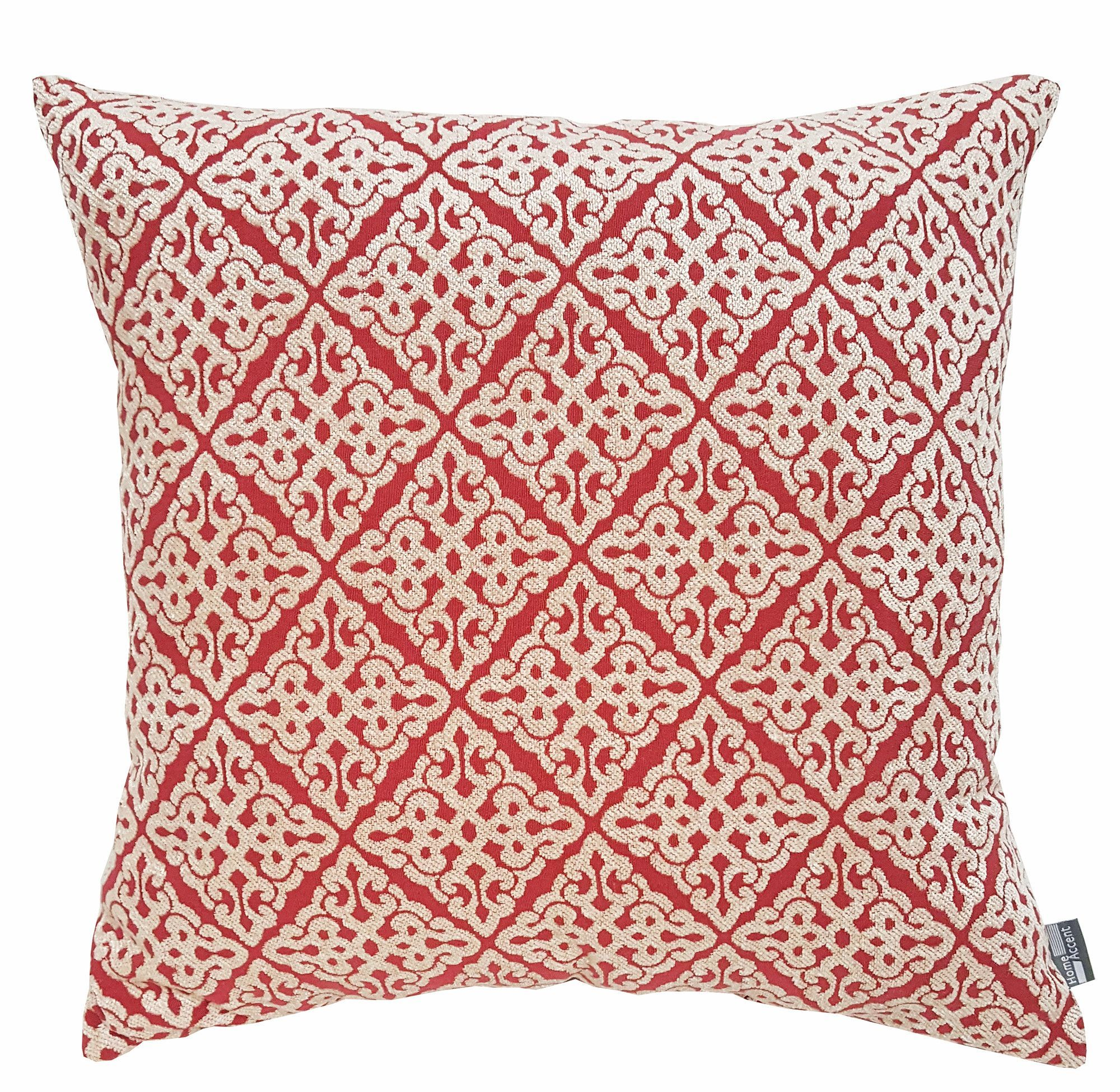 geo orange overstock throw garden corded perfect pillow free home of shipping polyester today product outdoor pillows new set