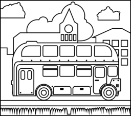 London Bus Coloring Page Bus Crafts Preschool Arts And Crafts London Bus