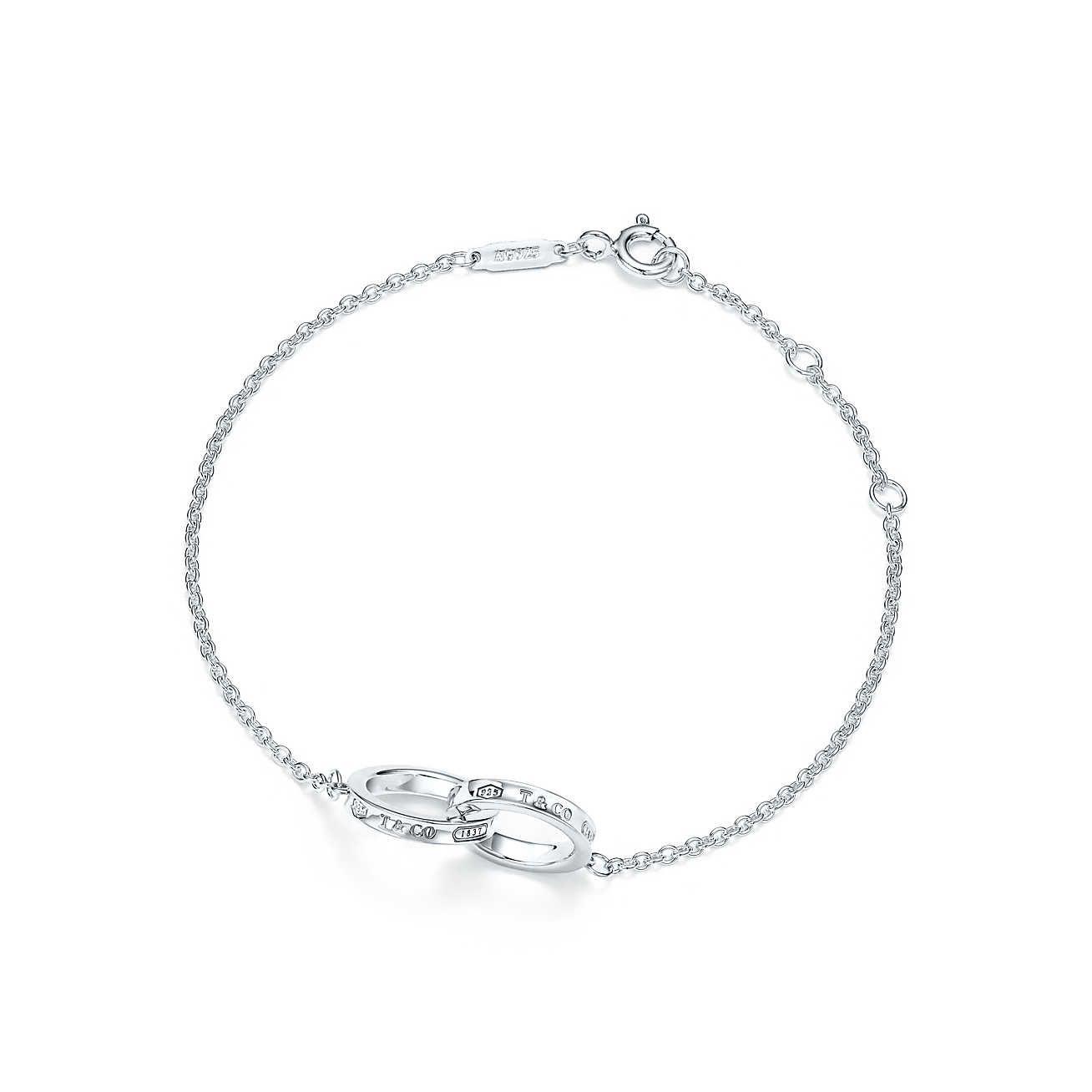 Tiffany 1837 Interlocking Bracelet In Sterling Silver