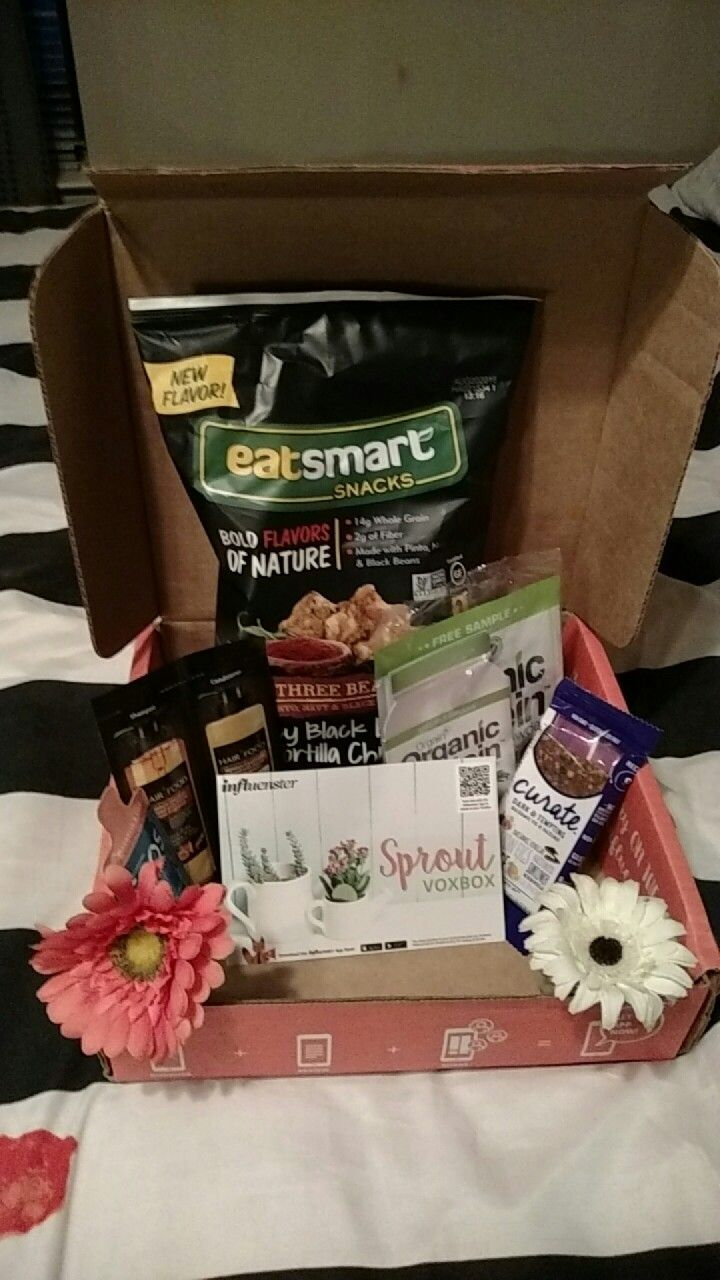 Sprout Voxbox  From Influenster to sample and try some great products. All opinions are my own.