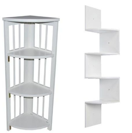 White Corner Shelf Foregather