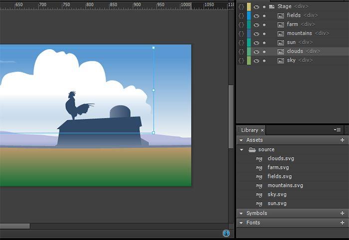 Exploring animated responsive banner design in Adobe Edge