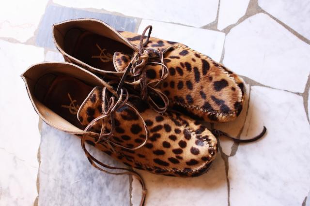 leopard moccasins ♥♥