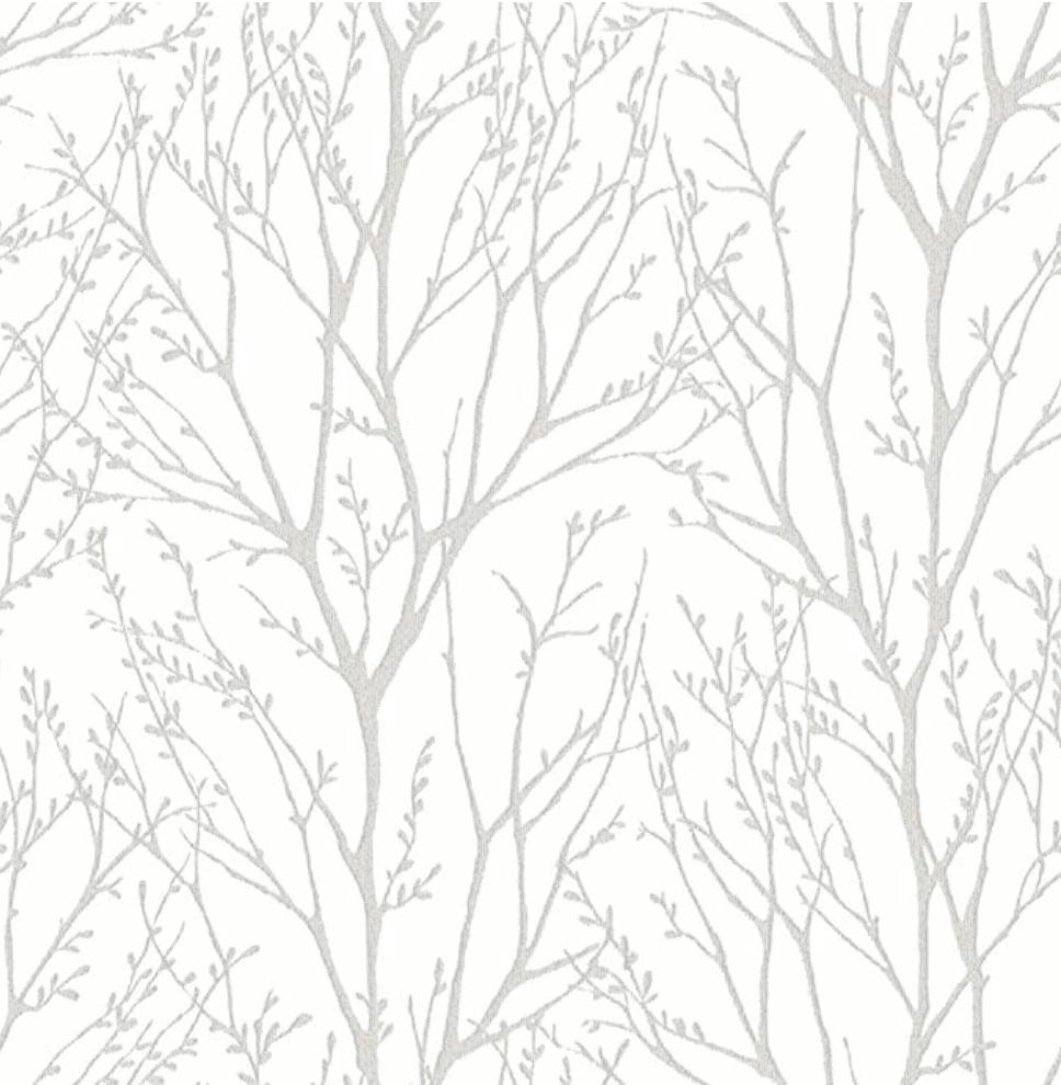 48 Of The Best Modern Farmhouse Wallpaper Maria Louise Design Tree Branch Wallpaper Silver Tree Wallpaper Tree Wallpaper