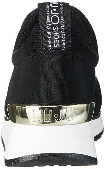 sports shoes 5ac45 917db Running Liu-Jo S17159 Ami nero: Amazon.it: Scarpe e borse ...
