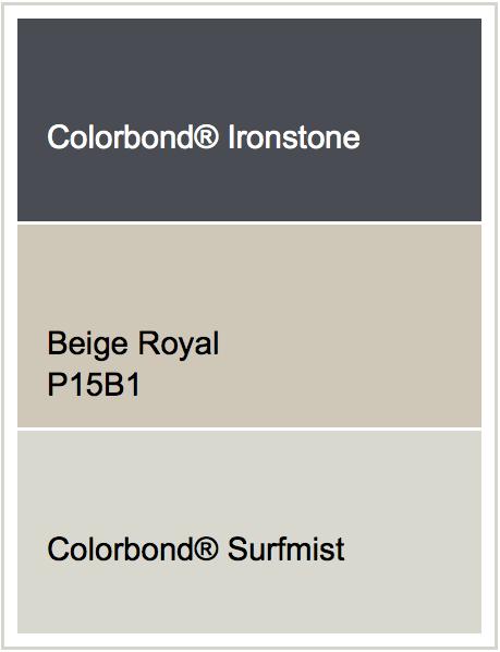 Roof Ironstone Render Beige Royal Windows Surfmist Likee Pinterest Beige Royals