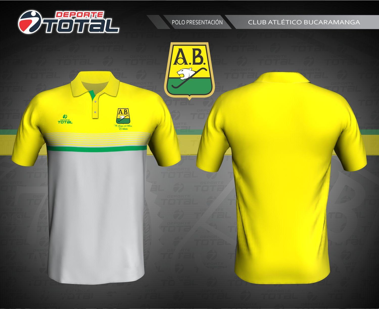fae2203da9e42 Polo De Presentación - deporte total-atletico bucaramanga- 2018-camiseta- uniforme-futbol-juego-soccer-diseño-santander-colombia-futbol colombiano-70  años-14