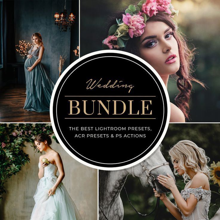 Wedding Bundle Lightroom Presets Photoshop Actions And Acr