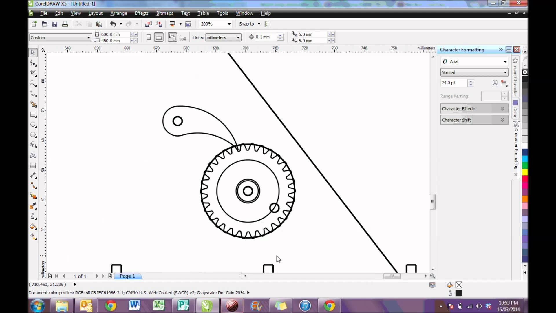 A short demonstration on how to use the DXF file you