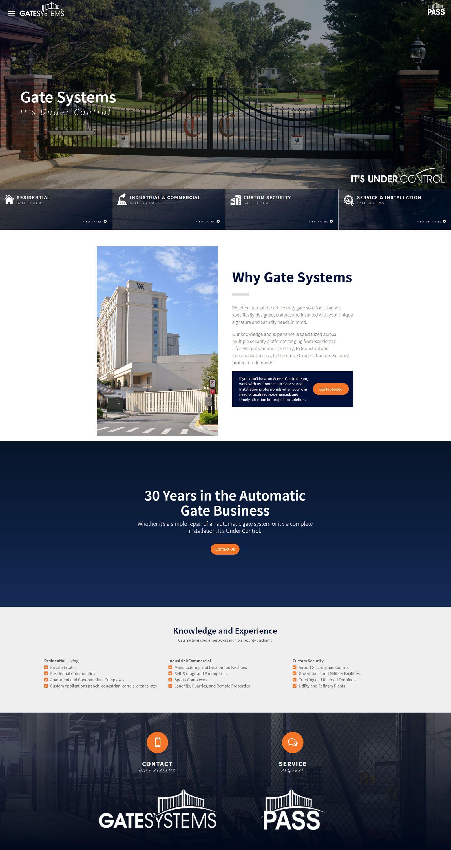 Website For Gate Systems By Visionfriendly Com Automationdesign Gates Commercialgates Residentialgates Webdesign U Automatic Gate Responsive Design Gate