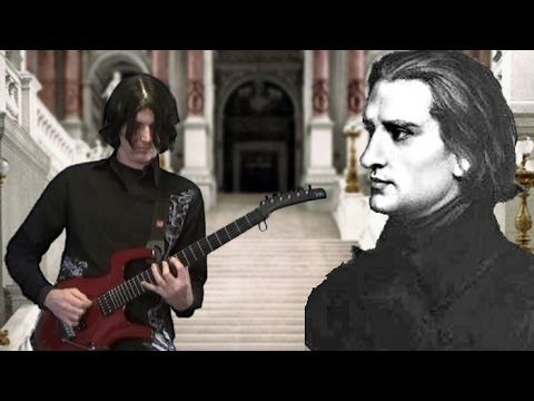 2015 Hungarian Rhapsody No 2 Dan Mumm Franz Liszt Metal Guitar Version Metal Songs Liszt Music