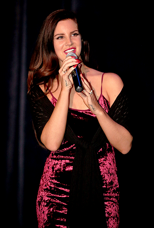 Lana Del Rey attends the Tropico premiere at the Arclight Cinemas Cinerama Dome in Hollywood on December 4th, 2013