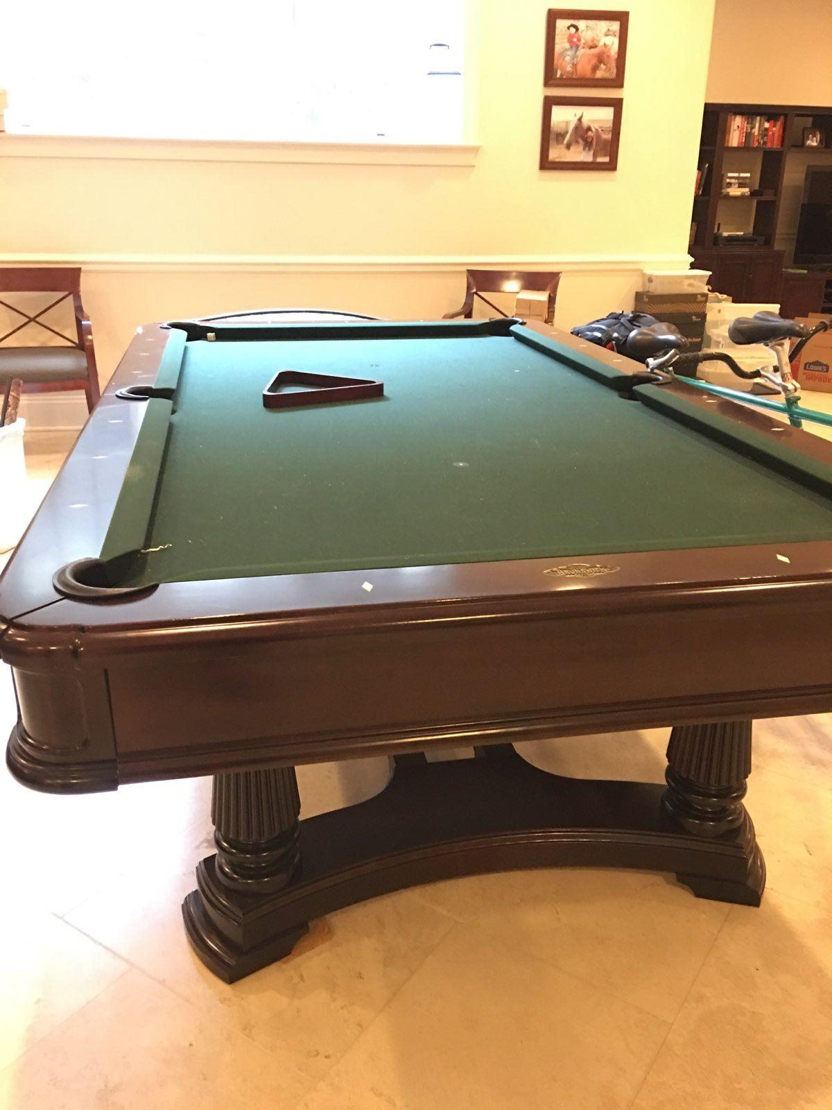 Brunswick Used Pool Tables >> 8 Brunswick Billiards Montebello Pool Table Sold Used Pool Tables