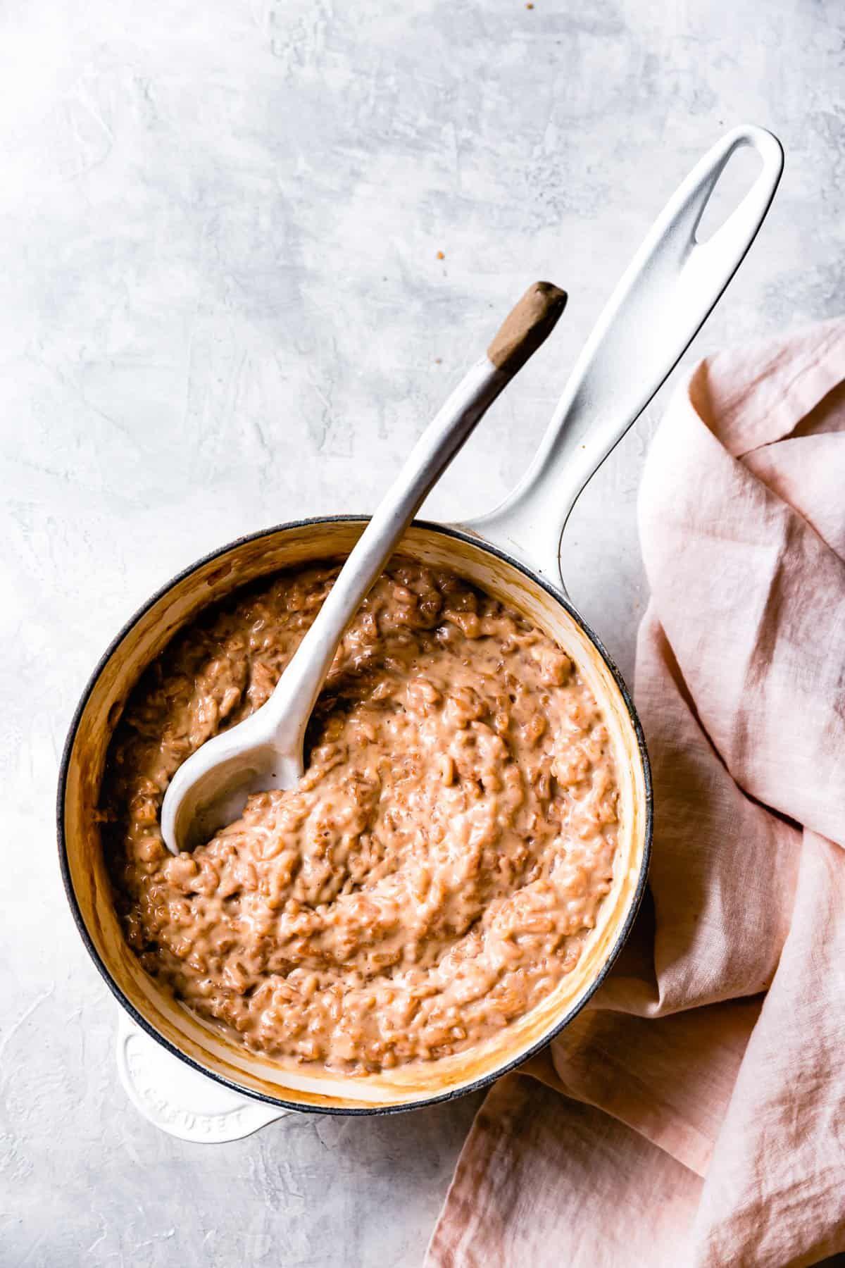 Milk Tea Rice Pudding Recipe In 2020 Rice Pudding Milk Tea Chocolate Pudding Recipes