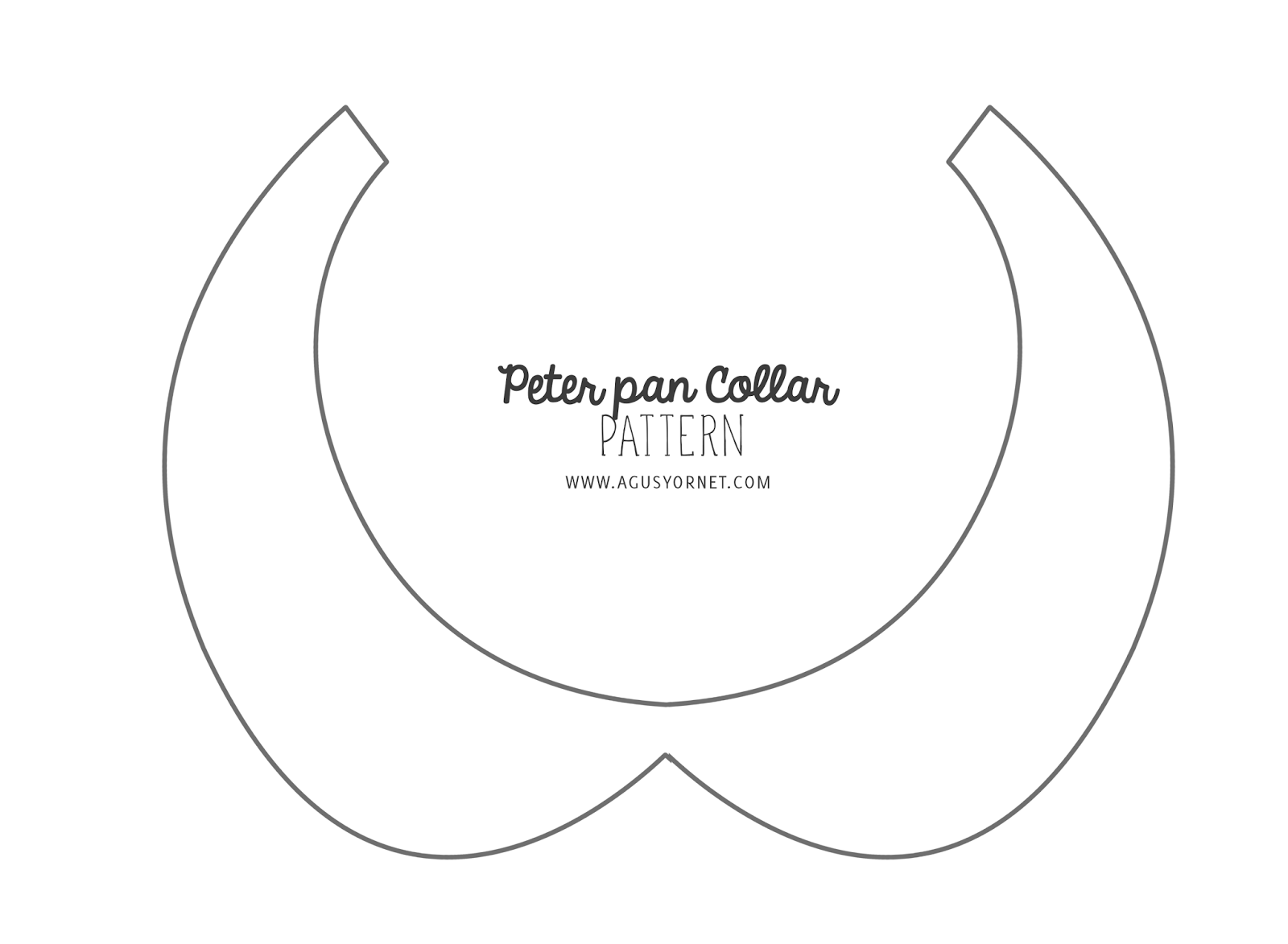 peter pan collar pattern - Bing Images | Sewing | Pinterest ...