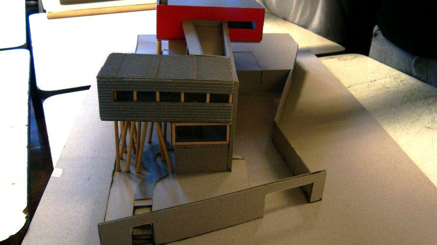 Villa dall 39 ava 1 75 by yukiruazu architecture models for Dall ava parquet