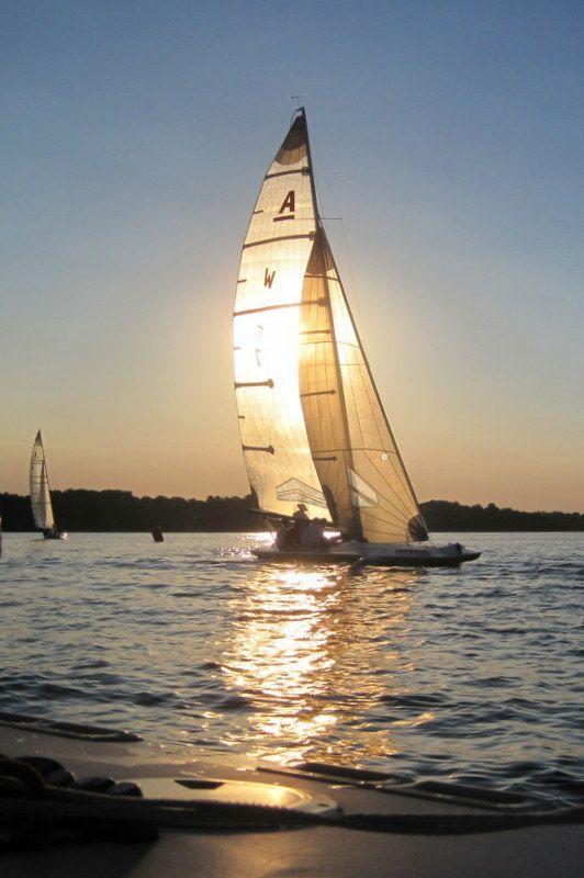 Summer Sailing On White Bear Lake White Bear Lake Summer Beach House Sailing