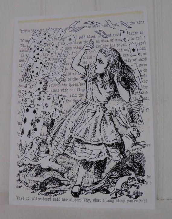 Alice in Wonderland Vintage Wall Decor Nursery by ...