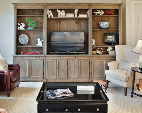 Built in entertainment center design pictures remodel for Meubles flamant outlet