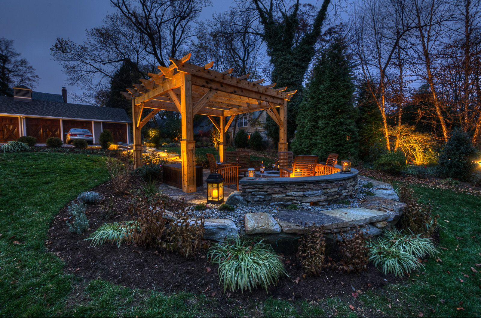 Beautiful backyard pergola crafted and designed by our ... on Disabatino Outdoor Living id=40375