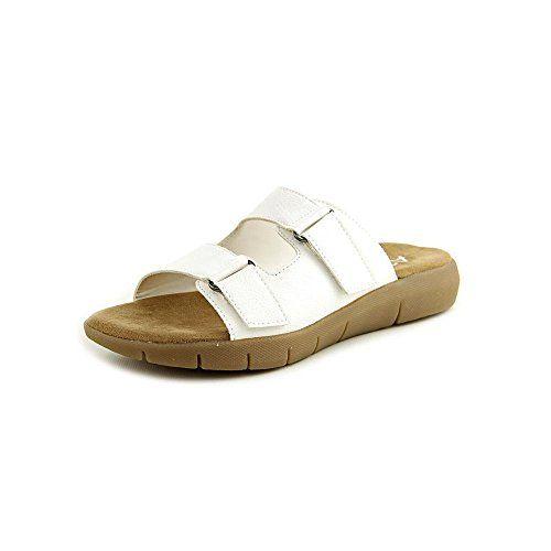 Aerosoles Women s Wip Band White Sandal 7 B M Aerosoles http