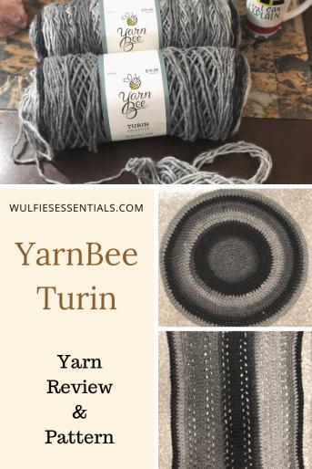 Yarn Bee – Turin Review & Pattern | WulfiesEssentials | Yarn bee