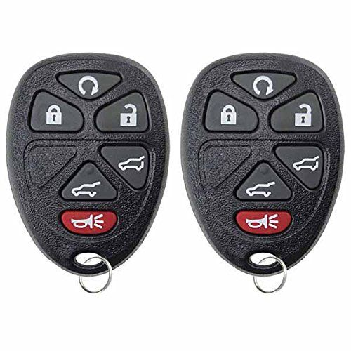 KeylessOption Keyless Entry Remote Control Car Smart Key Fob Replacement for KR55WK48903 Pack of 2 KR55WK49622