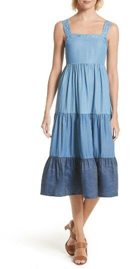Women S Kate Spade New York Chambray Patio Dress Nordstrom
