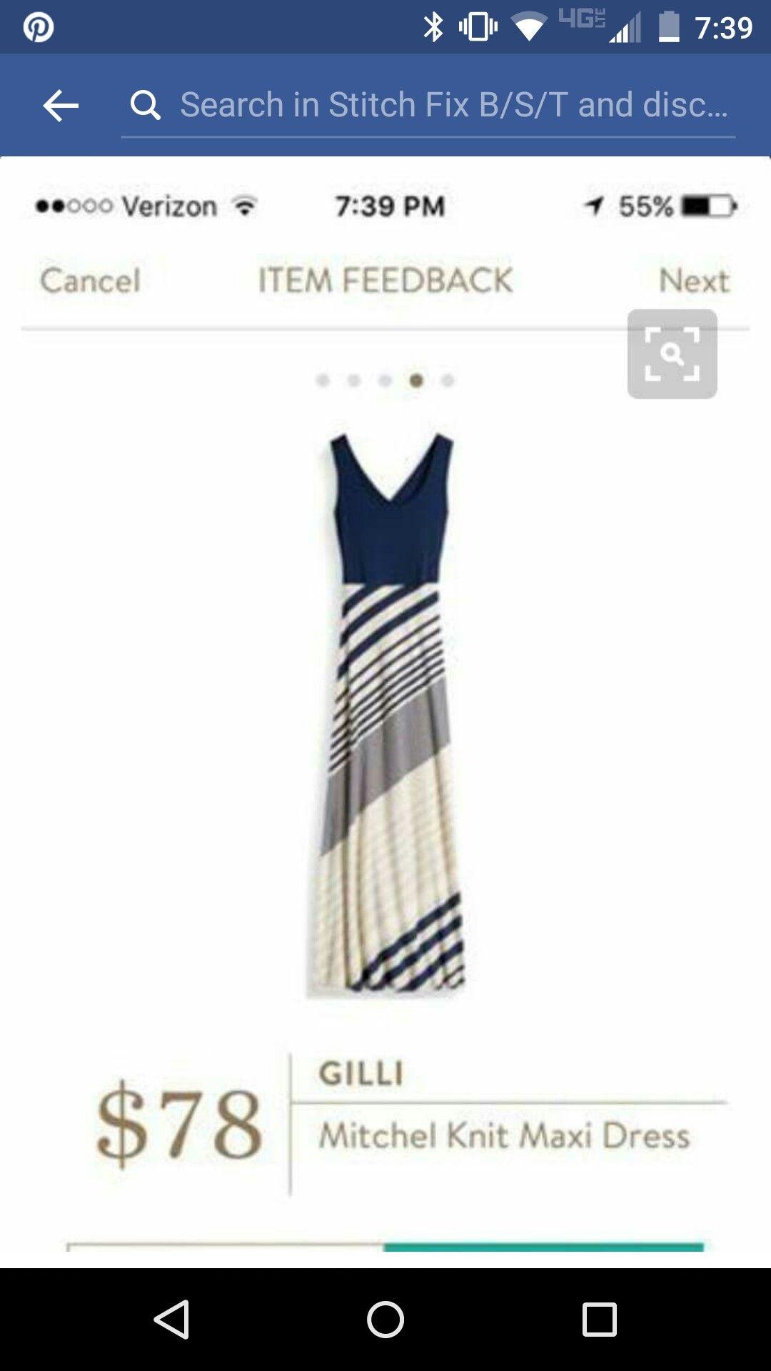 3fe42a60b7b03 I just saw this maxi and think I am in love!!! | Fashion in 2019 ...