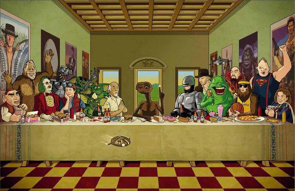 Скучаю, картинки тайная вечеря пародии