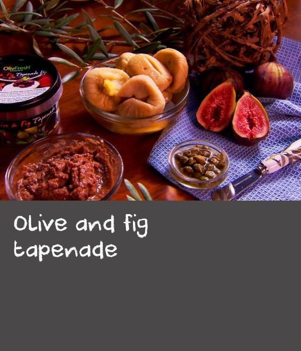 "Olive and fig tapenade | Traditionally, tapenade is simply made with olive paste and capers. Capers are a must. Tapenade originated in the French region of Provence and the name is derived from the Provencal word for capers, ""tapenas"". Often anchovies are also used. The great thing about tapenade is that you can add any number of ingredients depending on the flavours you like such as garlic, pepper, chilli, basil, parsley etc. This particular tapenade is a classic combination of two…"