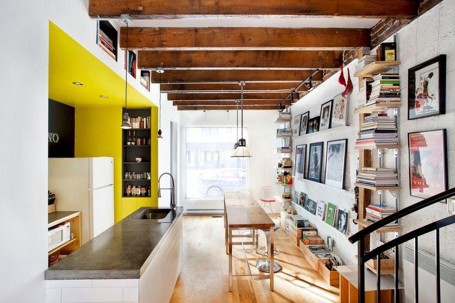 interior modern home and studio