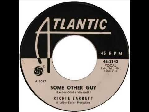 "Richie Barrett - ""Some Other Guy"" (1962) - YouTube"