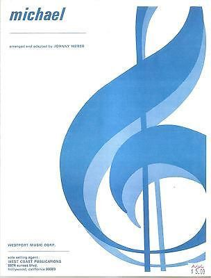 Sheet Music 1968 Michael Johnny Weber 20