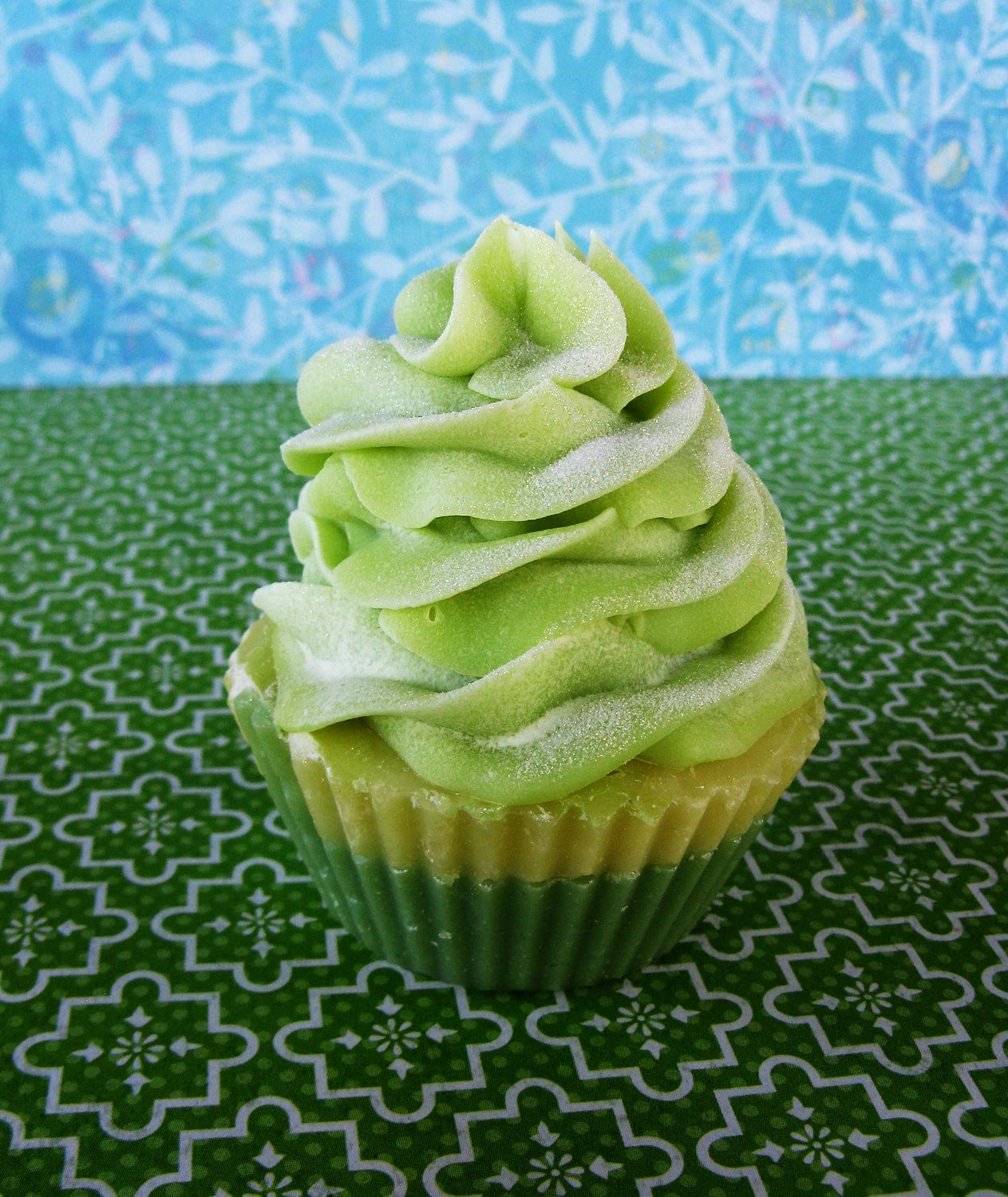 Limited Edition Ginger Pear Handcrafted Cupcake Soap. $6.50, via Etsy.