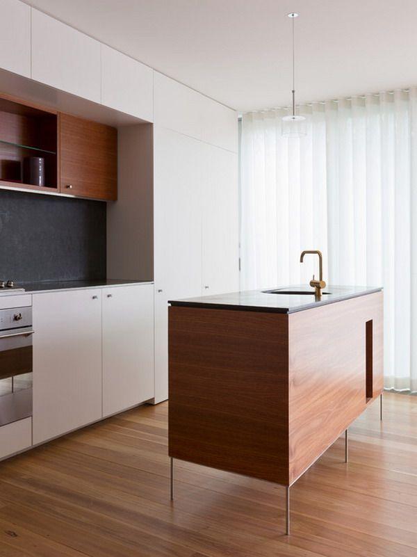 Contemporary Minimalist Freestanding Kitchen Island Design Brilliant Kitchen Design And Colors Decorating Design