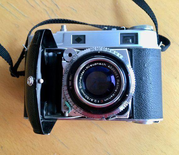 Fantastic Vintage Film Tested Kodak Retina ll c 35mm Folding Camera