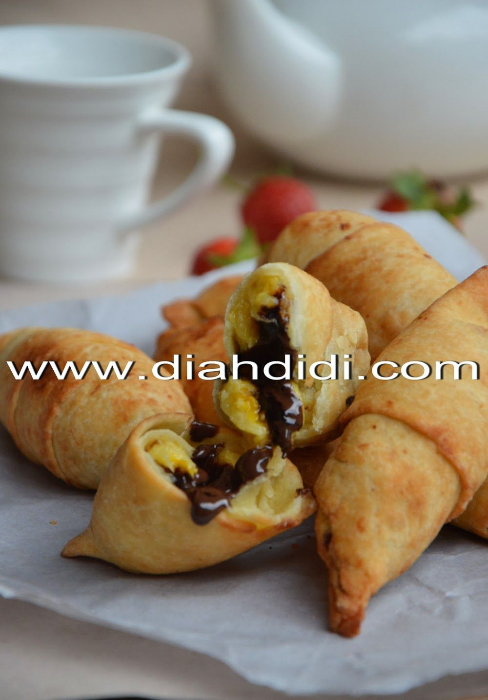 Diah Didi S Kitchen Molen Pisang Coklat Resep Masakan Ide Makanan Resep Masakan Indonesia