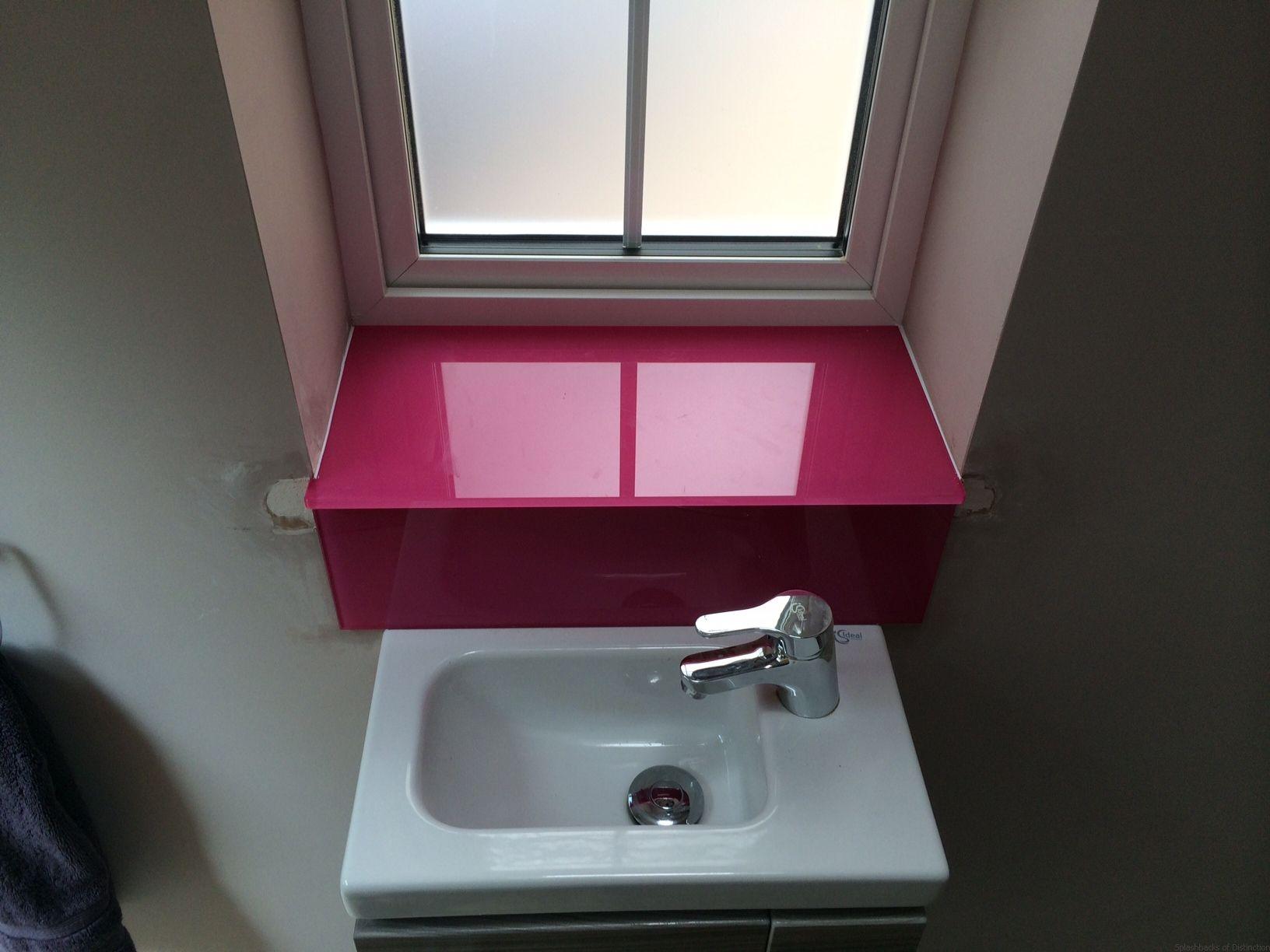 Glass splashbacks for bathroom sinks - Splashbacks Of Distinction Specialist Glass Projects