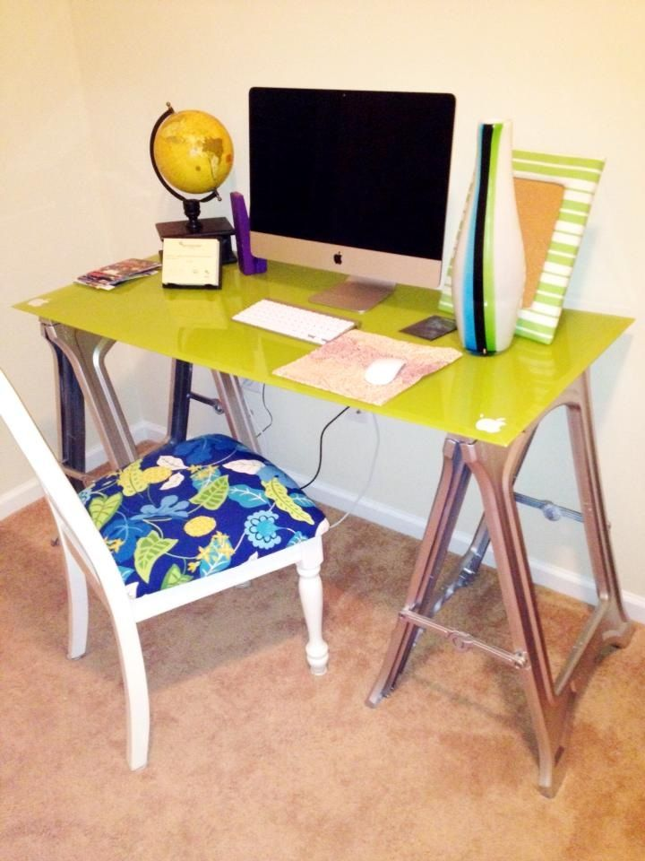 Diy Pottery Barn Inspired Desk Made With Painted