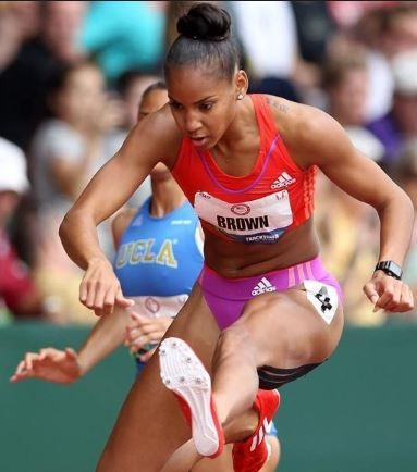 Brianna rollins beautiful olympian hurdler ameman - 2 part 6