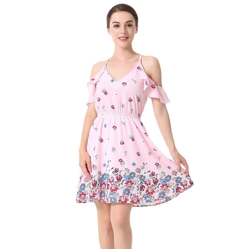 4738e8138e Vestidos Ropa De Moda Para Mujer Casuales Cortos Sexys Playa Verano 2018   Vestidos  PartyCocktail