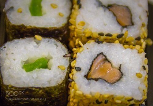 Sushi by burjanla  IFTTT 500px