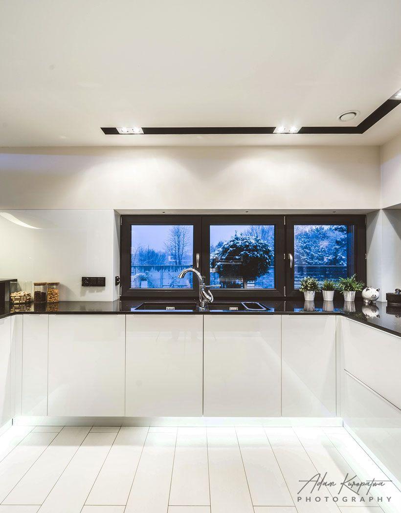 Kitchen Design In House In Ruda Slaska Poland Archi Group